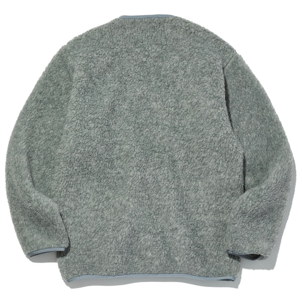 Lodge Cardigan, Heather Grey