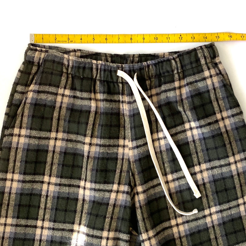 Active Lazy Pants, Chestnut Plaid