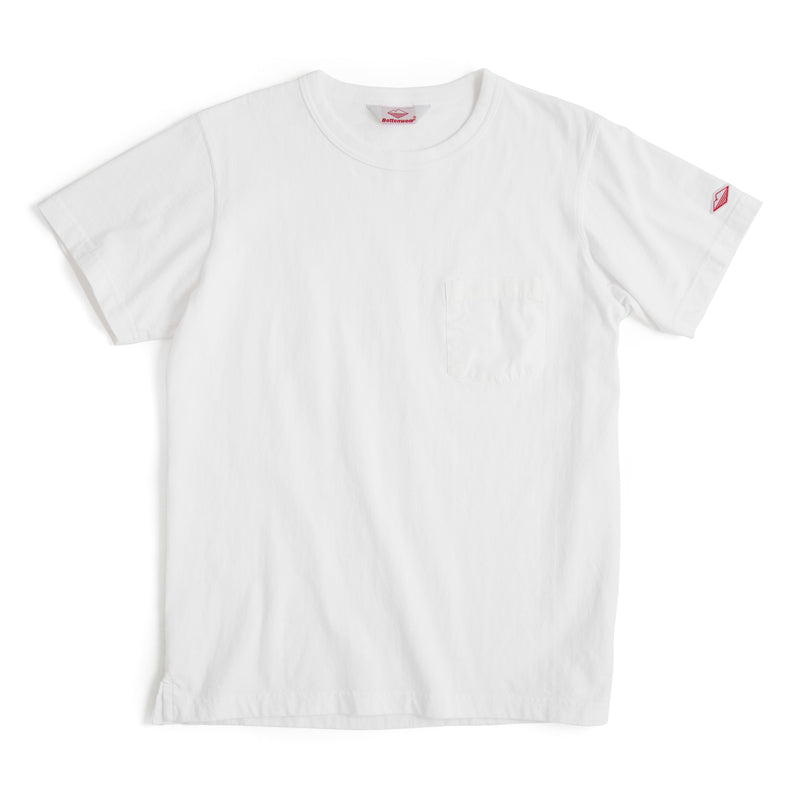 Pocket Tee Shirt, White