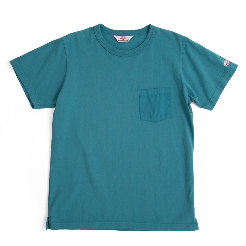 Pocket Tee Shirt, Teal