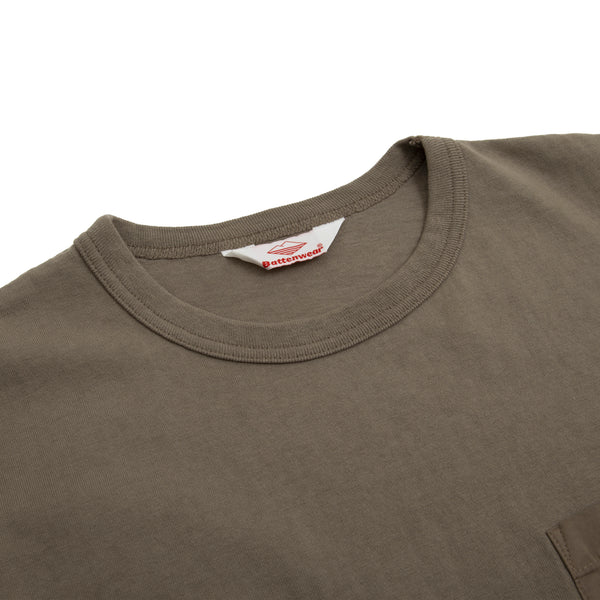 Pocket Tee Shirt, Olive