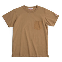 Pocket Tee Shirt, Mocha