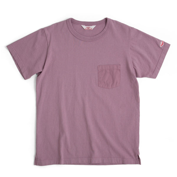 Pocket Tee Shirt, Dark Lavender