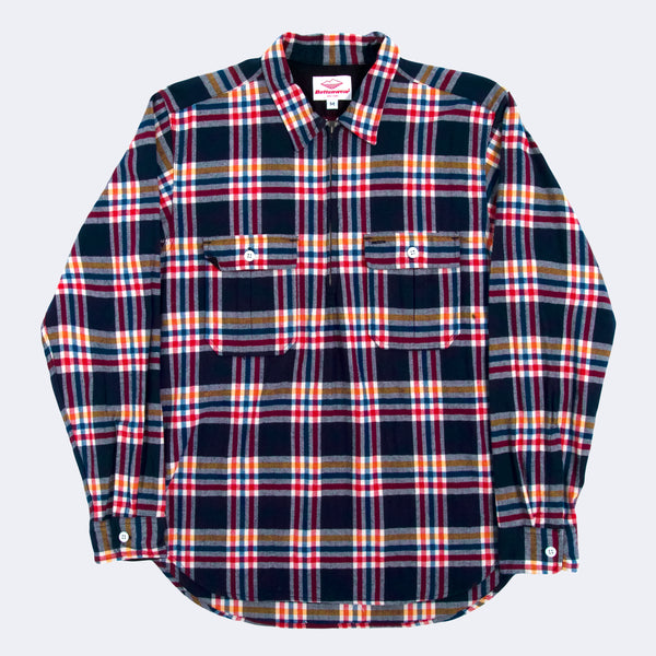 Garage Shirt, Navy/RedPlaid