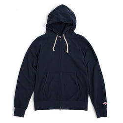 Reach-Up Zip Hoody, Navy