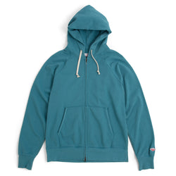 Reach-Up Zip Hoody, Teal