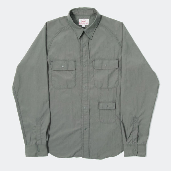 L/S Camp  Shirt, Light Olive