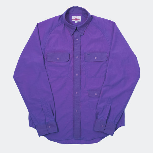 L/S Camp  Shirt, Purple