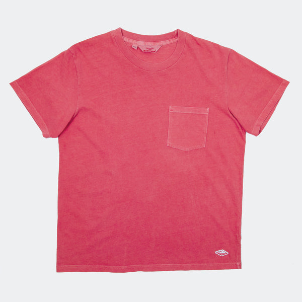 S/S Pocket Tee, Red
