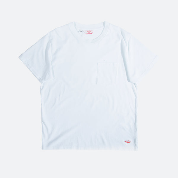 S/S Pocket Tee, White
