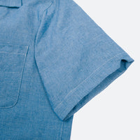 Five Pocket Island Shirt, Light Indigo