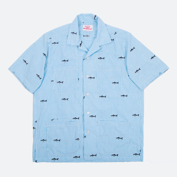 Five Pocket Island Shirt, Shark