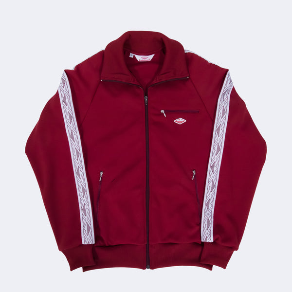 SAMPLE OF Track Jacket, Burgundy
