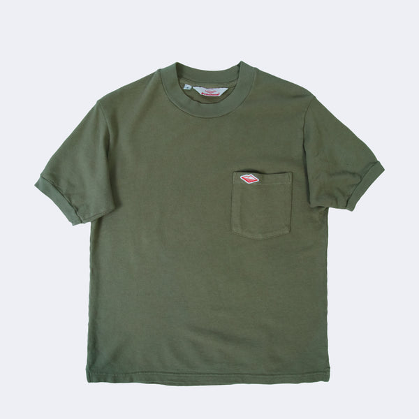 Polo Tee, Light Olive