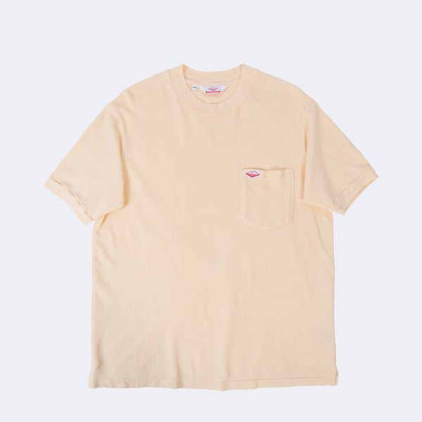 Polo Tee, Light Yellow