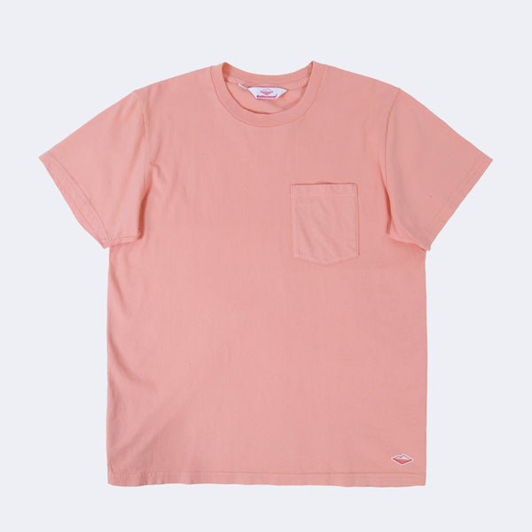 S/S Pocket Tee, Peach