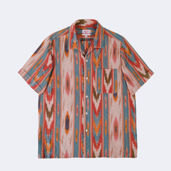 Zuma Shirt, Earth Ikat