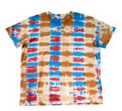 S/S Pocket Tee, Parallel Tie Dye