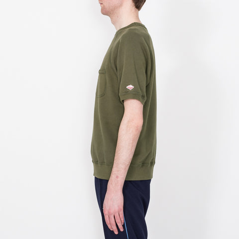 S/S Reach-Up Sweatshirt, Olive