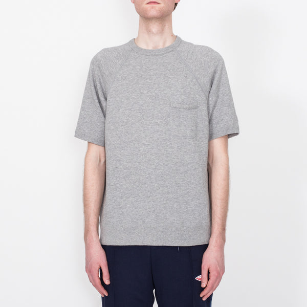 S/S Reach-Up Sweatshirt, Heather Grey
