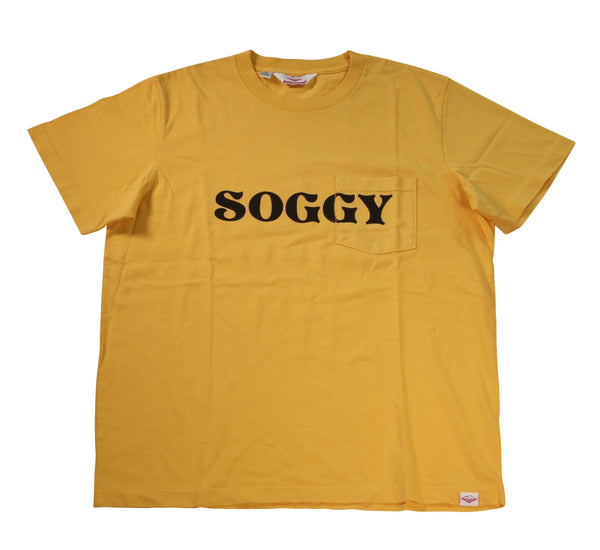 Soggy S/S Pocket Tee, Mustard