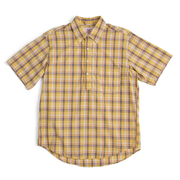 Sport Pullover, Yellow Plaid