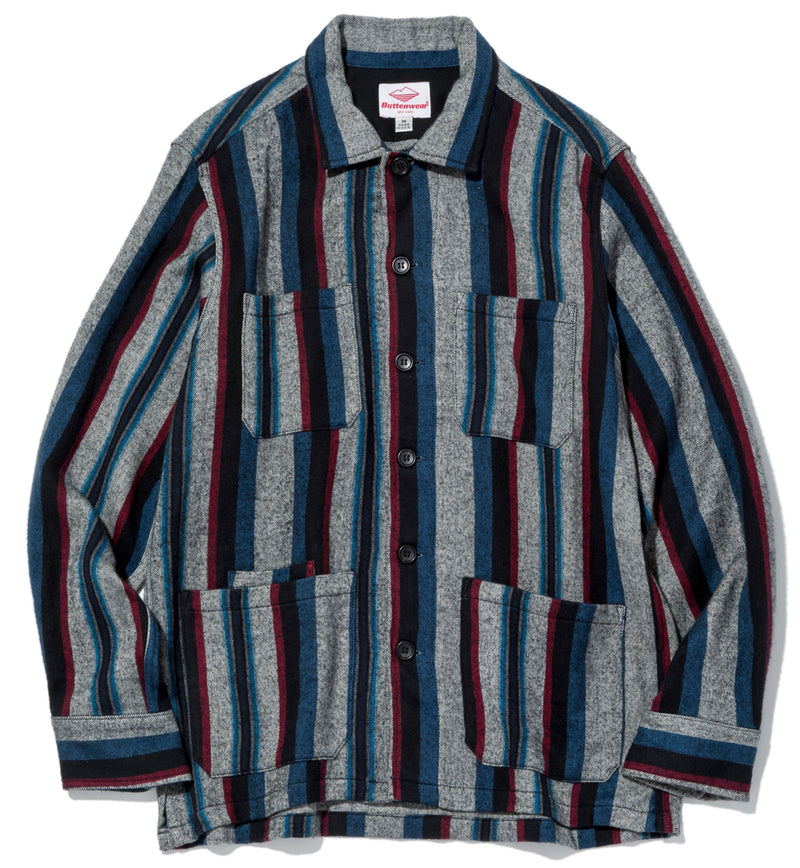 Five Pocket Canyon Shirt, Vertical Stripe