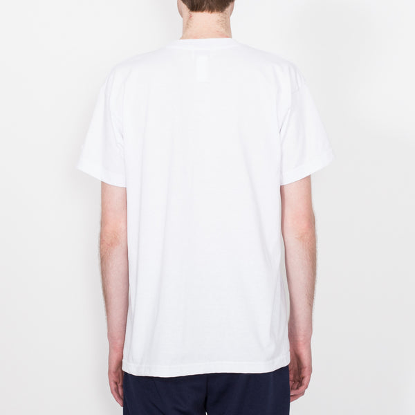 Beach Run Tee, White