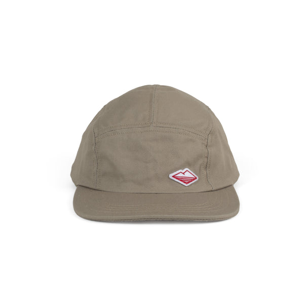 Travel Cap, Khaki Cotton Twill