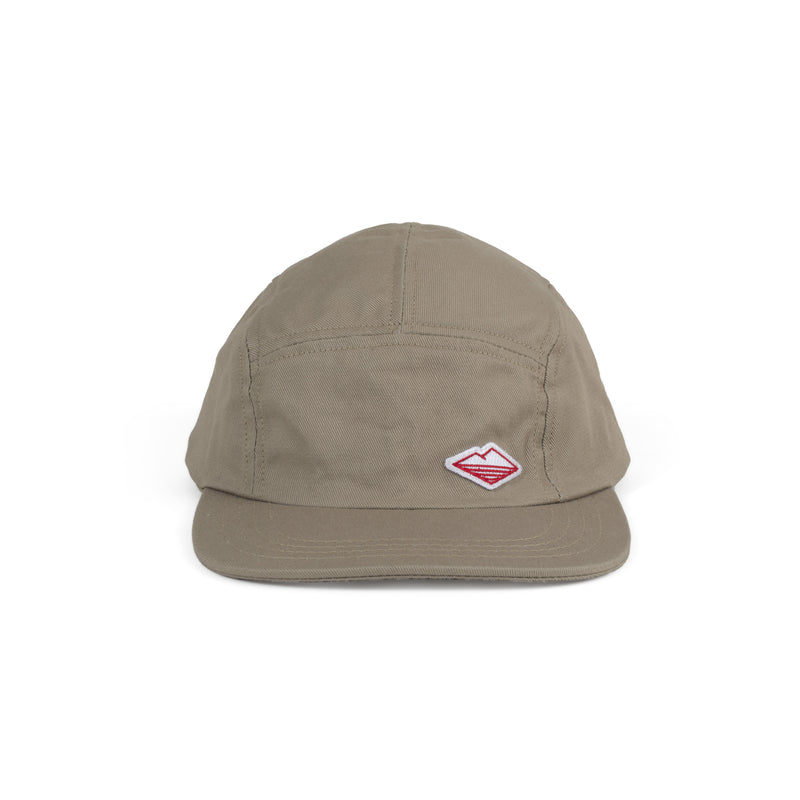Travel Cap (SS19), Khaki Cotton Twill