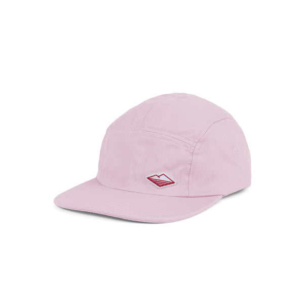 Travel Cap, Pink Cotton Twill