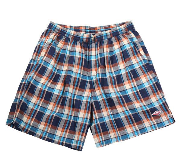 Weekend Shorts, Blue Plaid