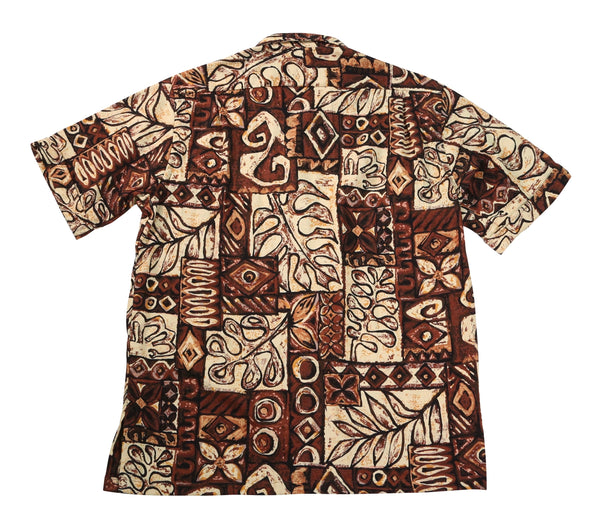 Zuma Shirt, Brown Print