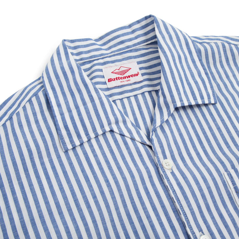 Zuma Shirt, Blue Stripe
