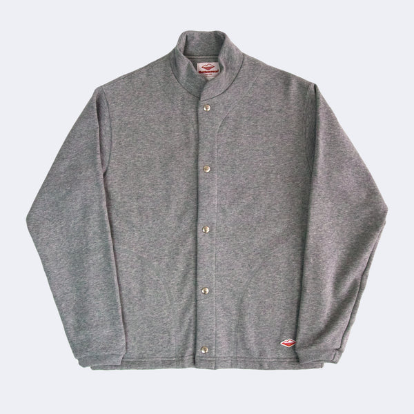 Sweat Cardigan, H Grey