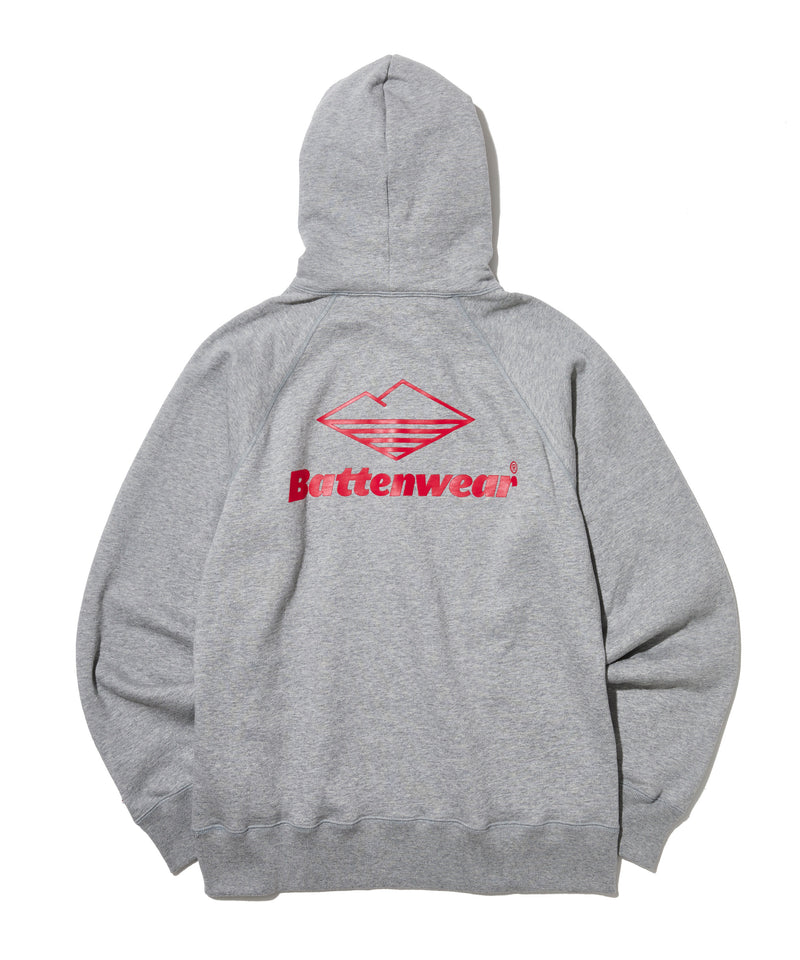 Team Reach Up Hoody, Heather Grey