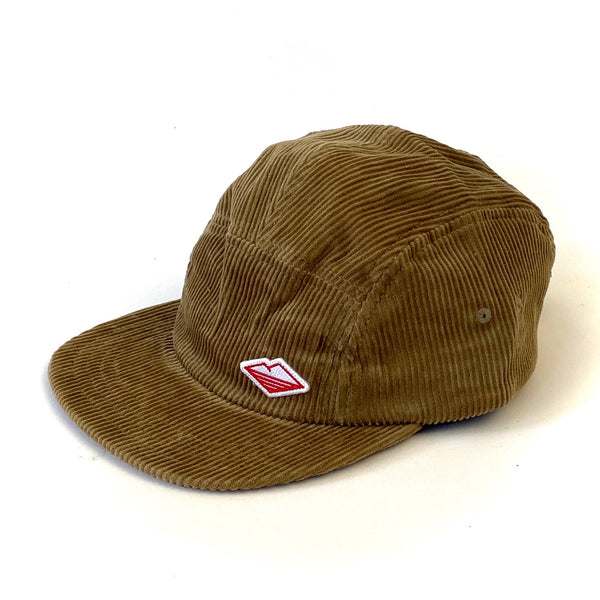 Travel Cap, Acorn Corduroy
