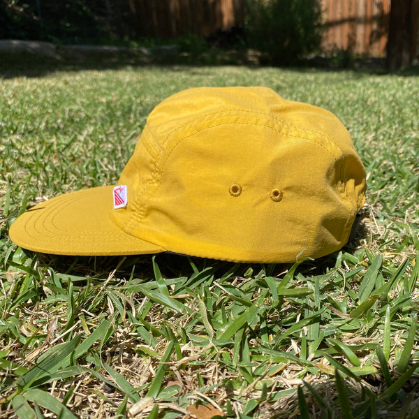 Travel Cap, Mustard Nylon