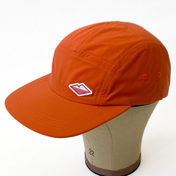 Travel Cap, Orange Nylon