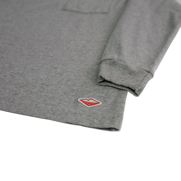 L/S Basic Pocket Tee (FW19), H Grey