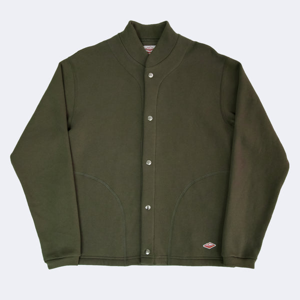 Sweat Cardigan, Olive