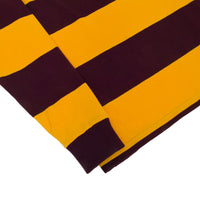 Pocket Rugby Shirt, Maroon x Gold