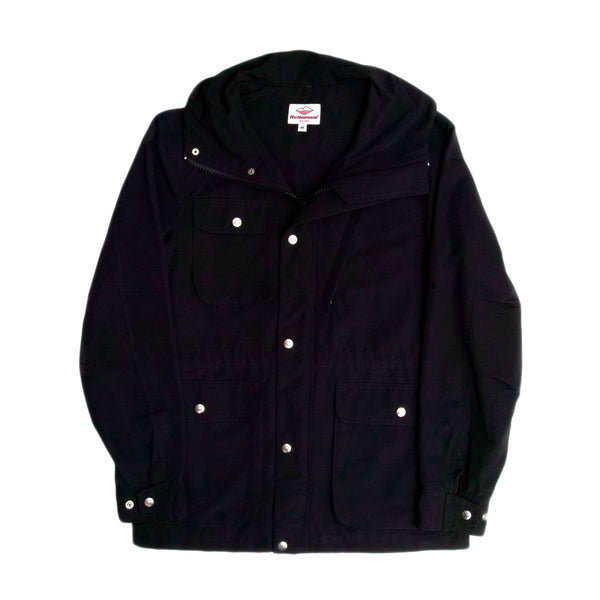 Travel Shell Parka, Black