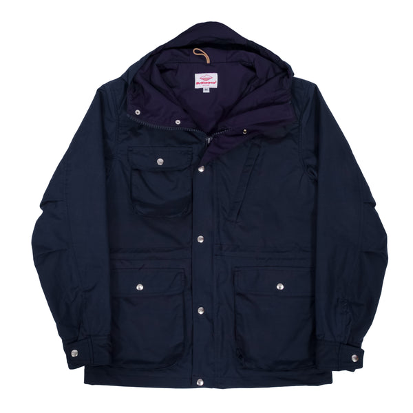 Travel Shell Parka, Navy