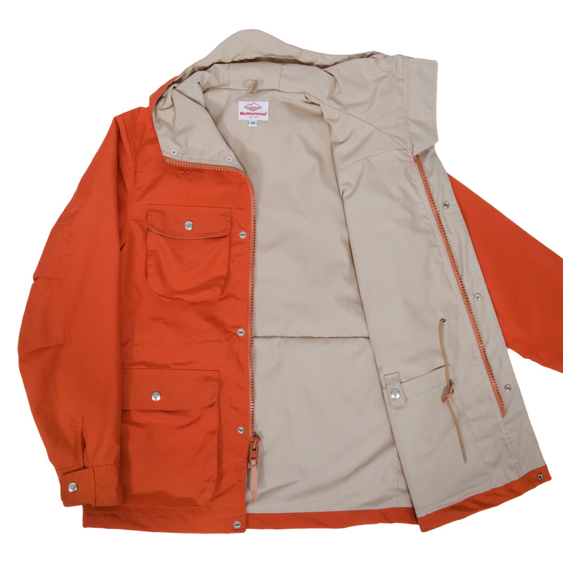 Travel Shell Parka, Orange