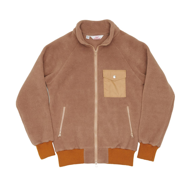 Warm-Up Fleece (FW19), Cappuccino