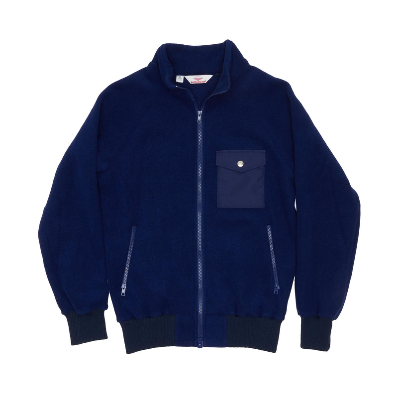 Warm-Up Fleece , Navy