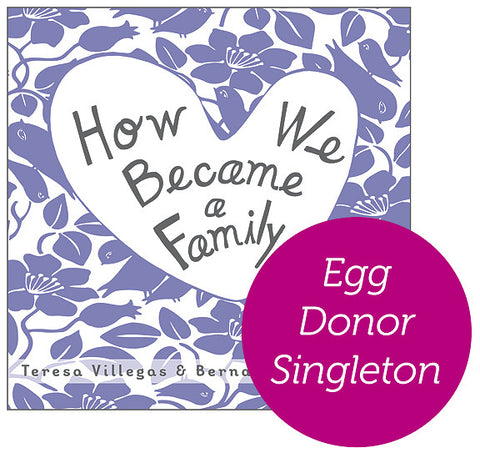 Egg Donor - Singleton Hardcover Book