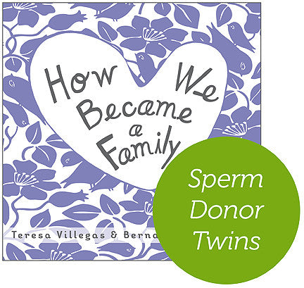 Sperm Donor - Twins Hardcover Book