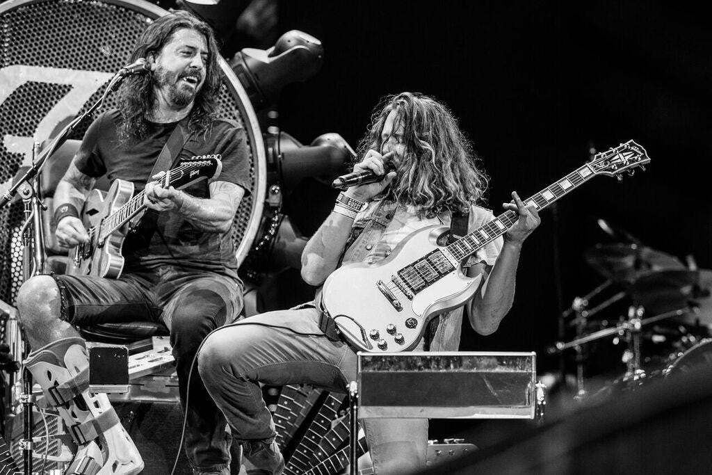 Ben Kweller sings backing vocals on new Foo Fighters EP